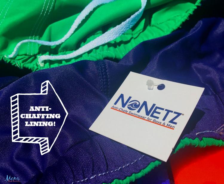 NoNetz anti-chafe swimming trunks for Boys & Men