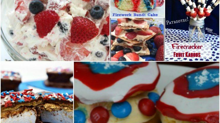 20 Patriotic Recipes for a fun Star-Spangled Celebration!