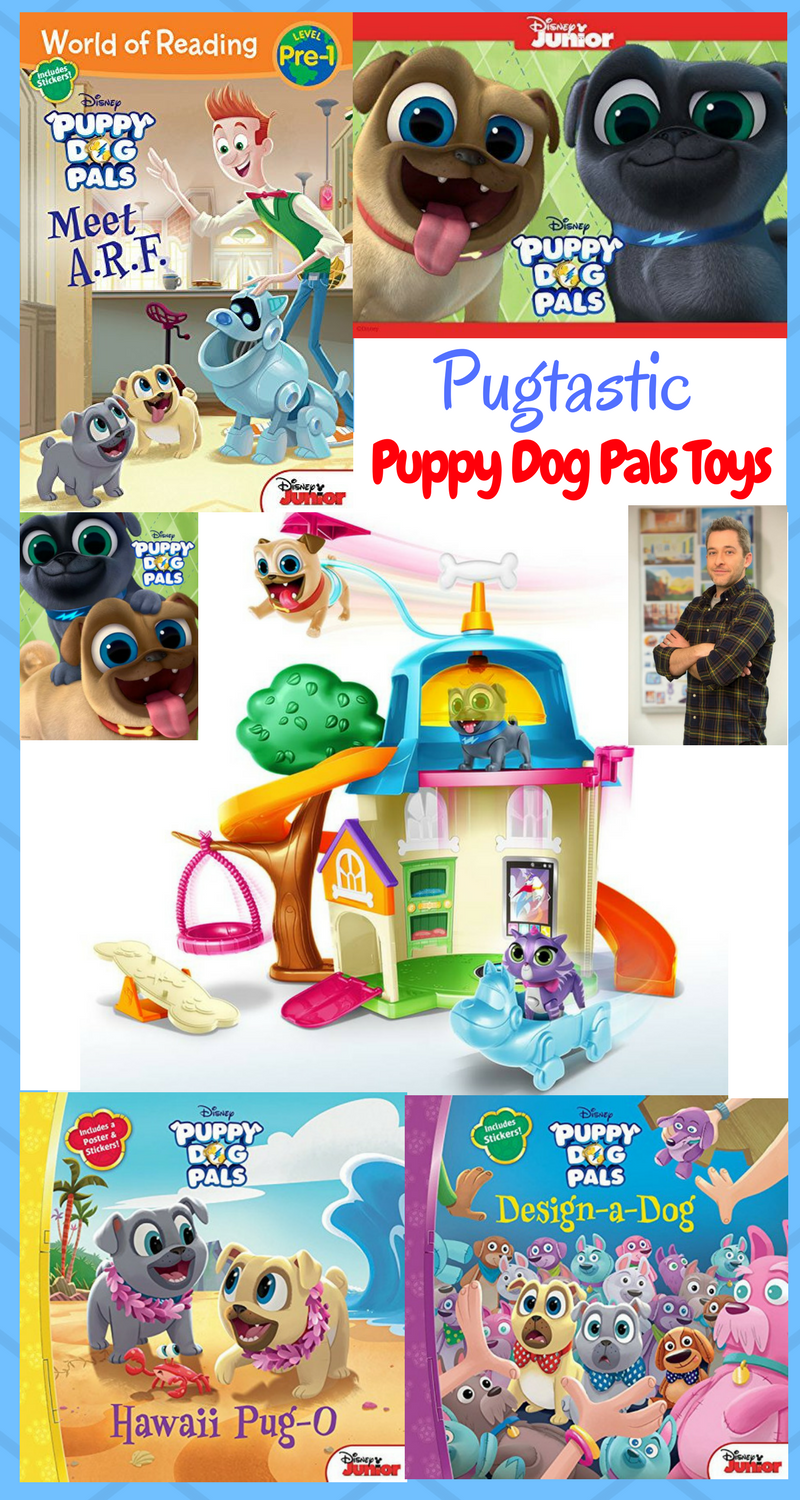 Fun Toys and Books from Puppy Dog Pals!