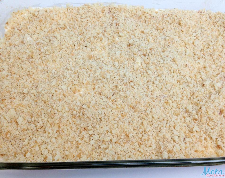 Strawberry Crunch Bars process