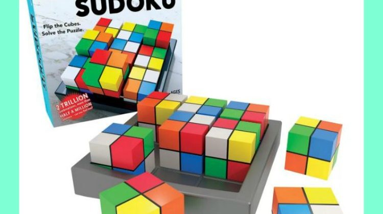 Win a Color Cube SUDOKU by Thinkfun #Giveaway 5/19