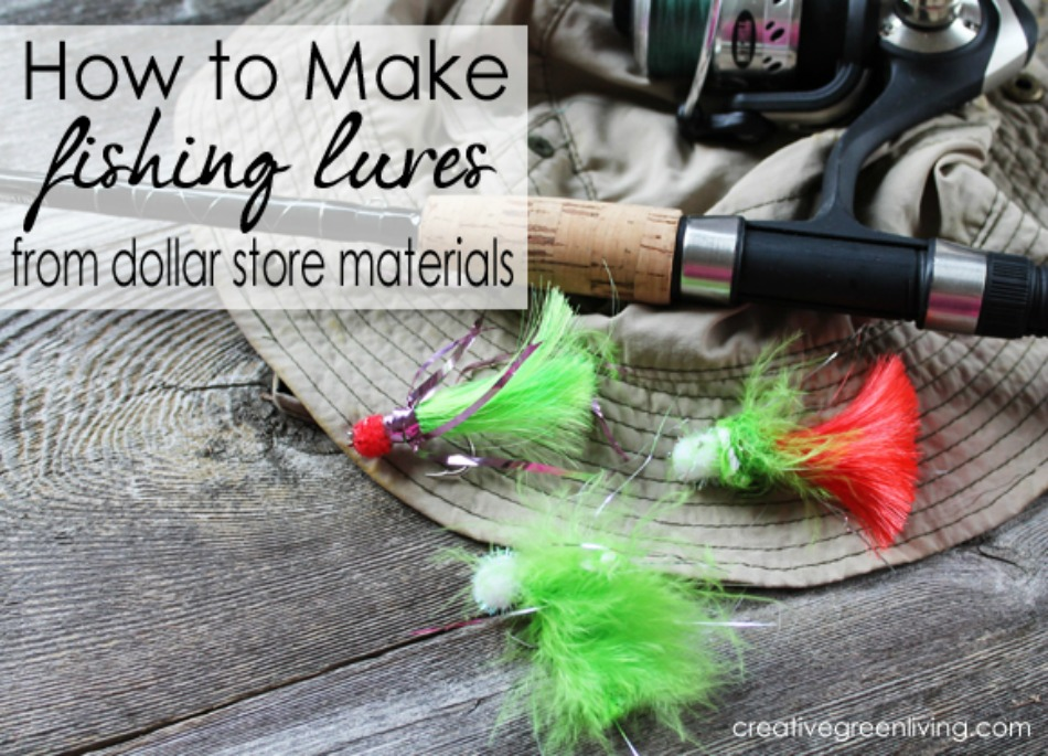 how to make fishing bait lures