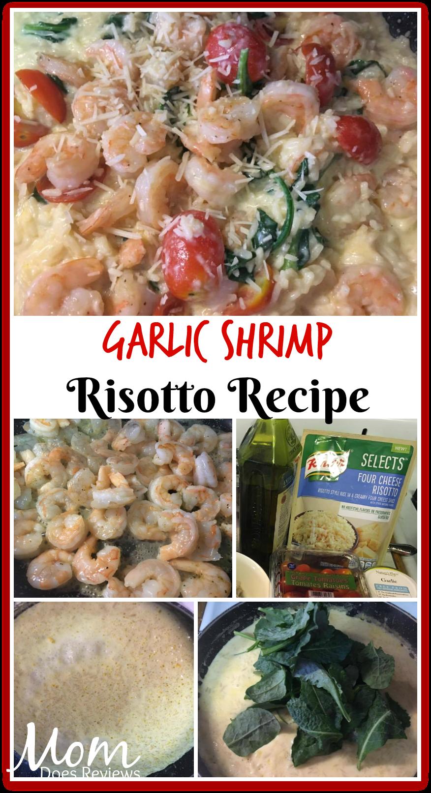 Garlic Shrimp Risotta Recipe
