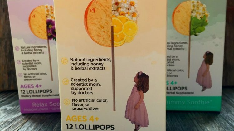 nature soothie Lollipops – Natural Lollipops Help with Your Kids Ailments #Review