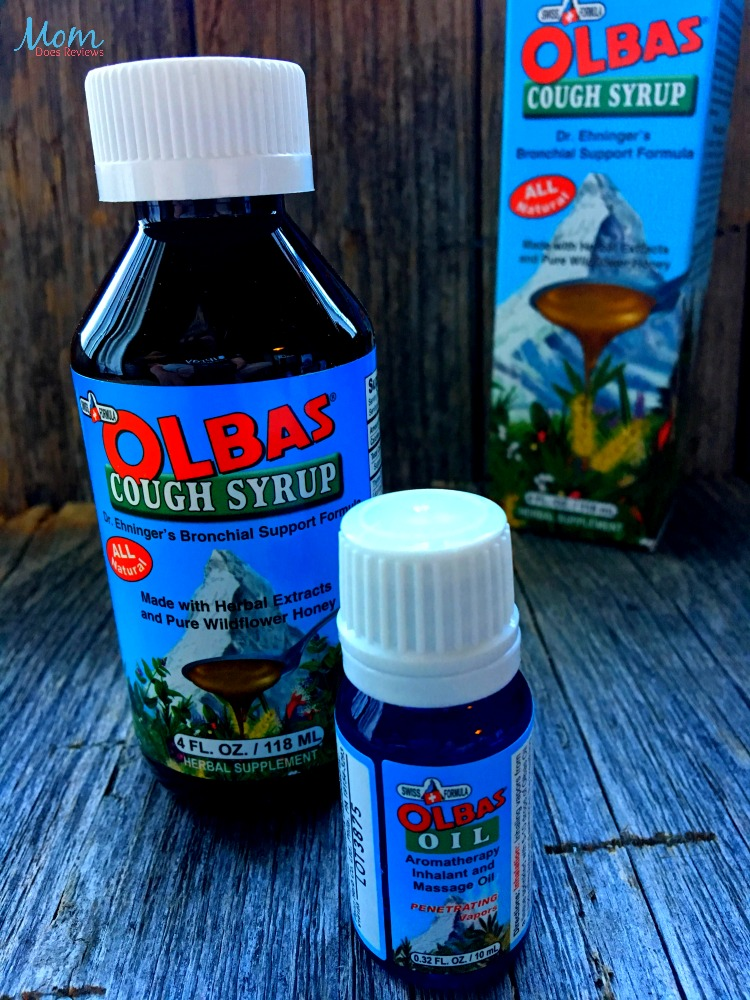 Does olbas oil help a cough