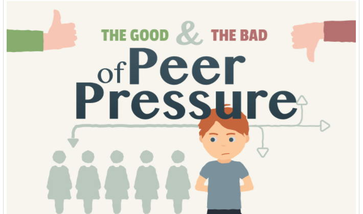 The Science of Peer Pressure #infographic