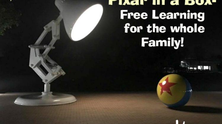 Pixar in a Box- Free Learning & CARS 3!  #Cars3Event #pixarinabox