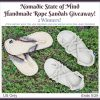 2 Winners for Nomadic State of Mind Sandals