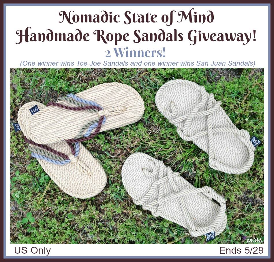 cd3805e0bdf 2  Winners Nomadic State of Mind Sandals! 5 29 US only -