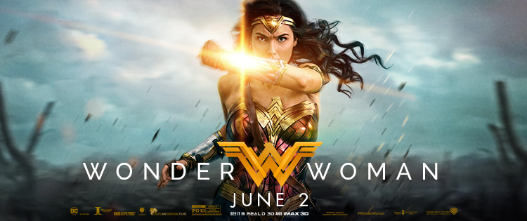 For Mother's Day- #WonderWoman – opening 6/2 #SheisWonderWoman