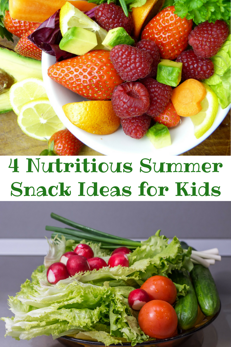 4 great summer snacks for kids