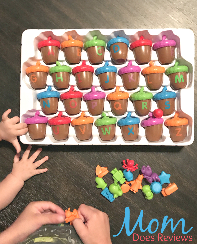 Alphabet acorns activity set review