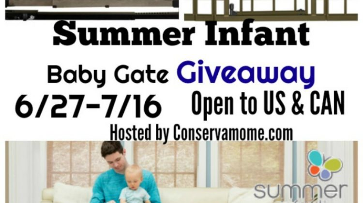 #Win a Summer Infant Baby Gate! #BeautifulBoundaries 7/16 US/CAN Ends 7/16