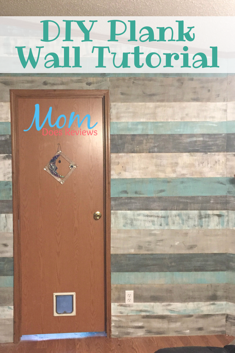 DIY Plank Wall Tutorial