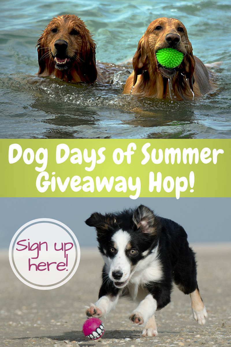 Bloggers- Sign up for the Dog Days of Summer Giveaway Hop!
