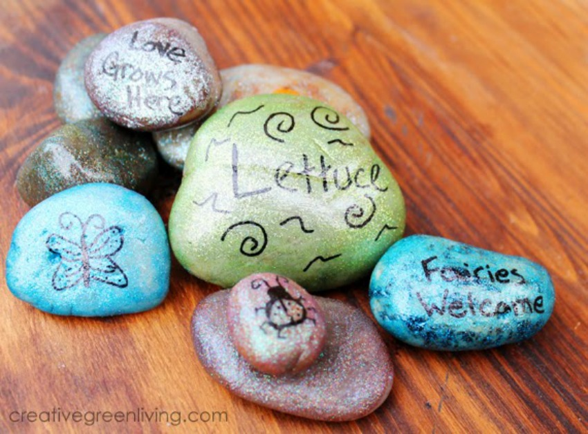 Fairy Rocks for Your Garden