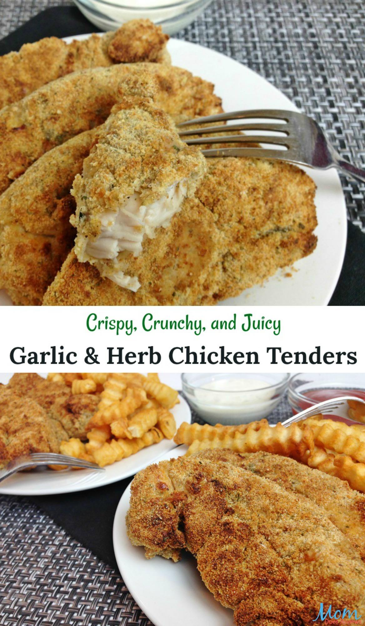 Garlic and Herb Chicken Tenders Recipe