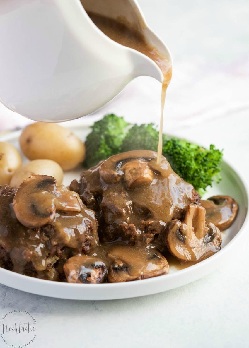 Instant Pot Salisbury Steak and Gravy
