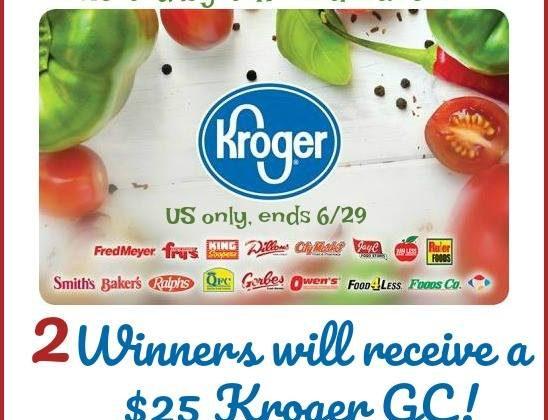 TWO #Winners $25 @Kroger Gift Cards #Switch2BODYARMOR #BringIt