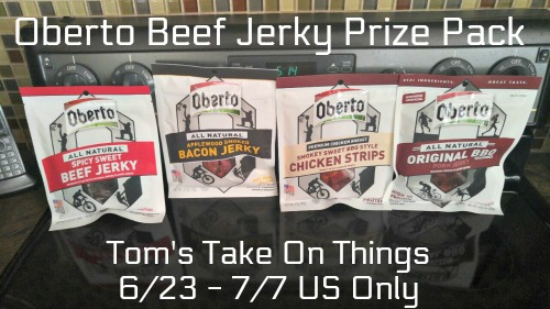 #Win 4 Bags of Oberto's Beef Jerky US ends 7/7