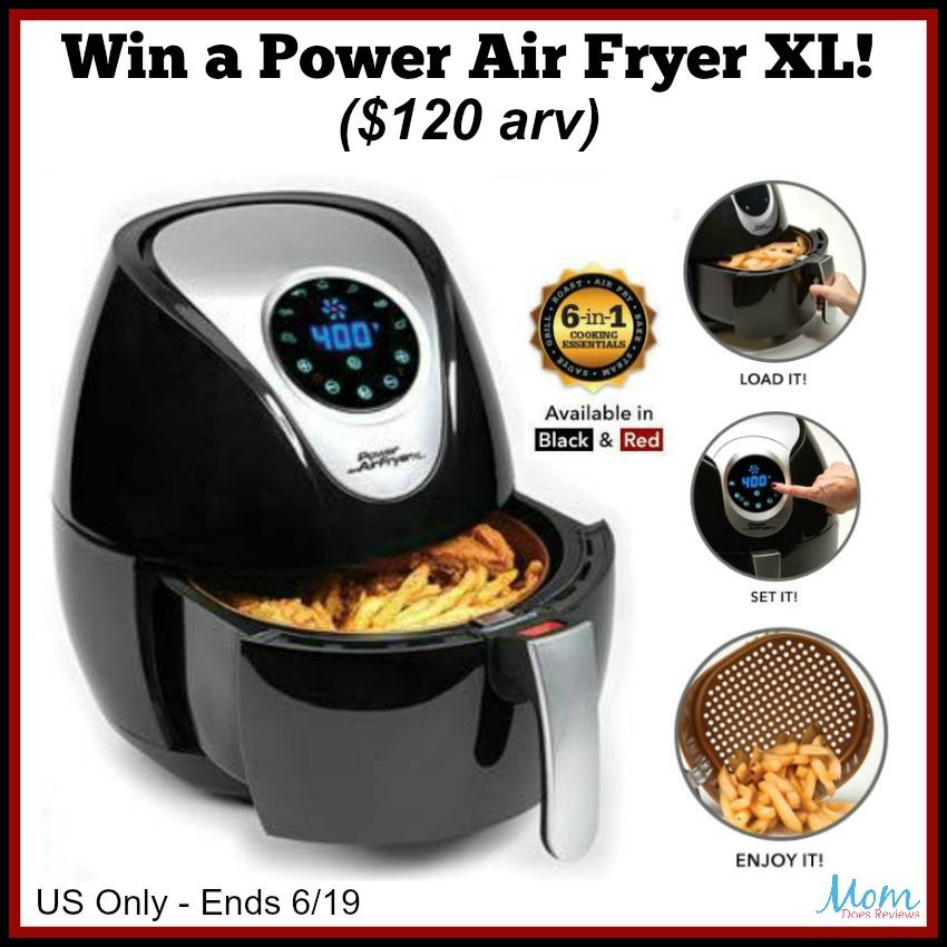 Power Air Fryer XL Giveaway Button