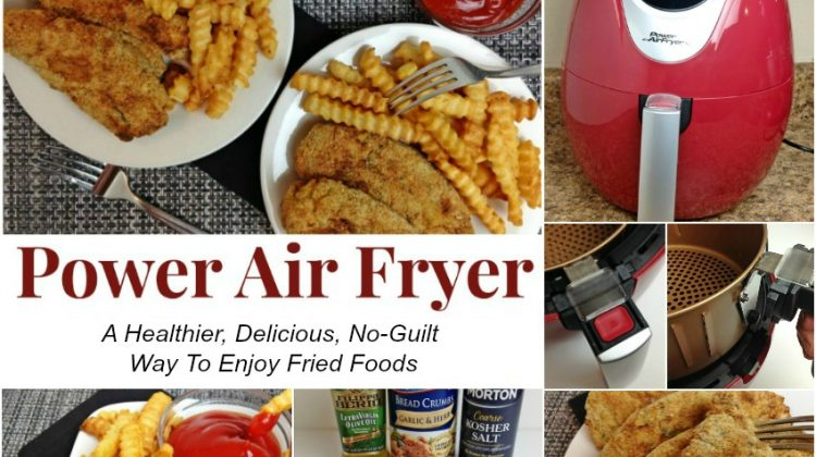 The Power Air Fryer: A Healthier, Delicious, No-Guilt Way To Enjoy Fried Foods #SuperDadGifts17