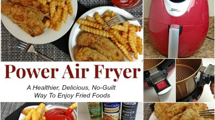 Power Air Fryer horizontal banner