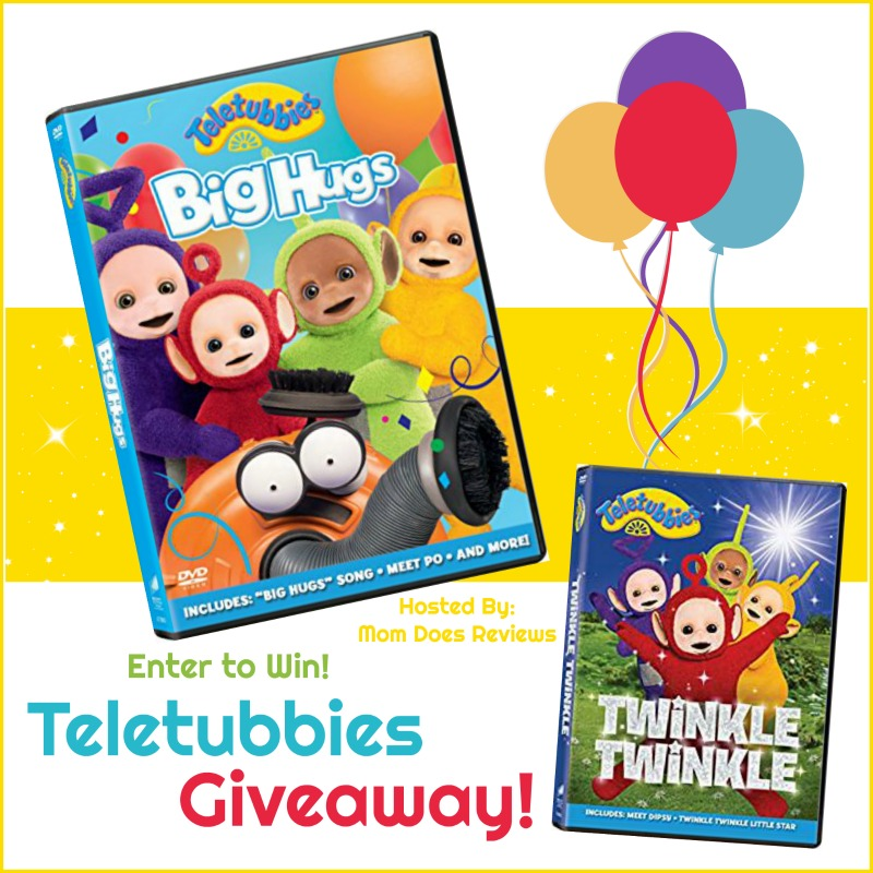 Enter to Win the Teletubbies DVD Giveaway! Watch BIG Hugs & Twinkle Twinkle!