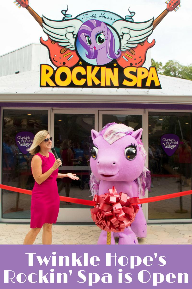 Twinkle Hope's Rockin' Spa is open!
