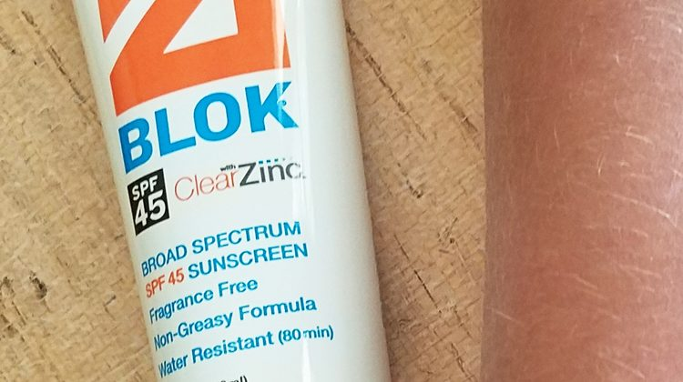 ZERO Burns With ZBlok Sunscreen