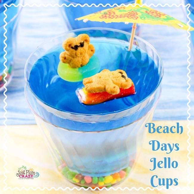 Beach Days Jello Cup- Fun for kids!