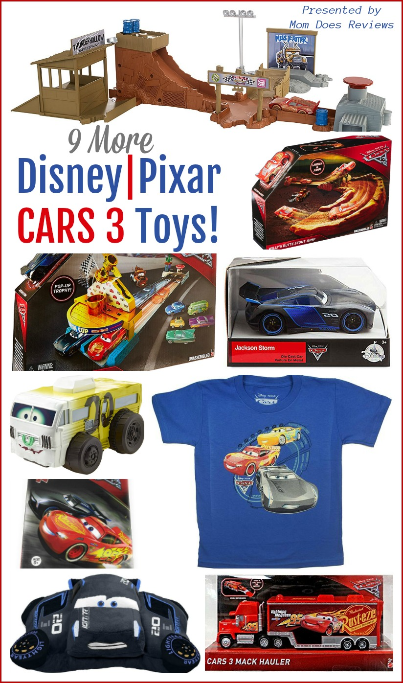 More Disney Pixar Cars 3 Toys Games And Gear Cars3event