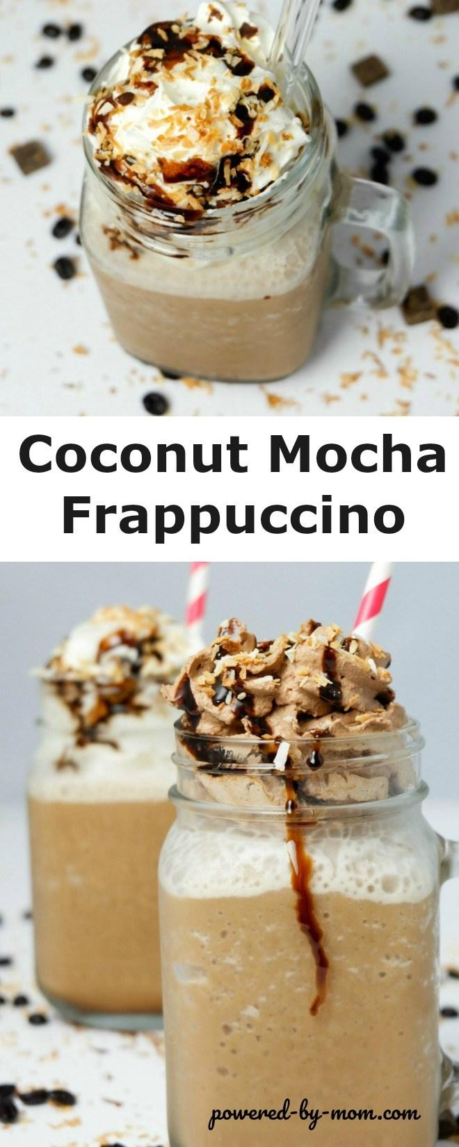 Coconut Mocha Frappuccino
