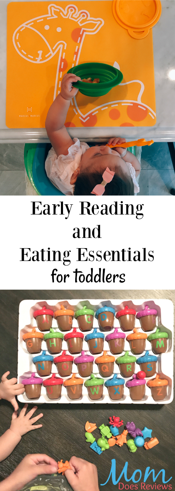 early reading and eating essentials for toddlers
