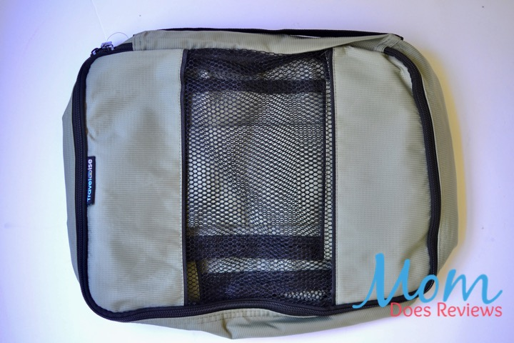 grey packing cubes