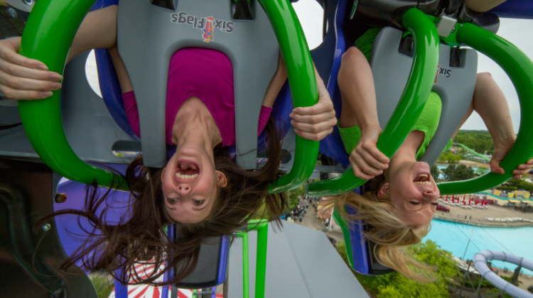 THE JOKER™  New England's First 4D Free-Fly Coaster  #sixflags #thejoker