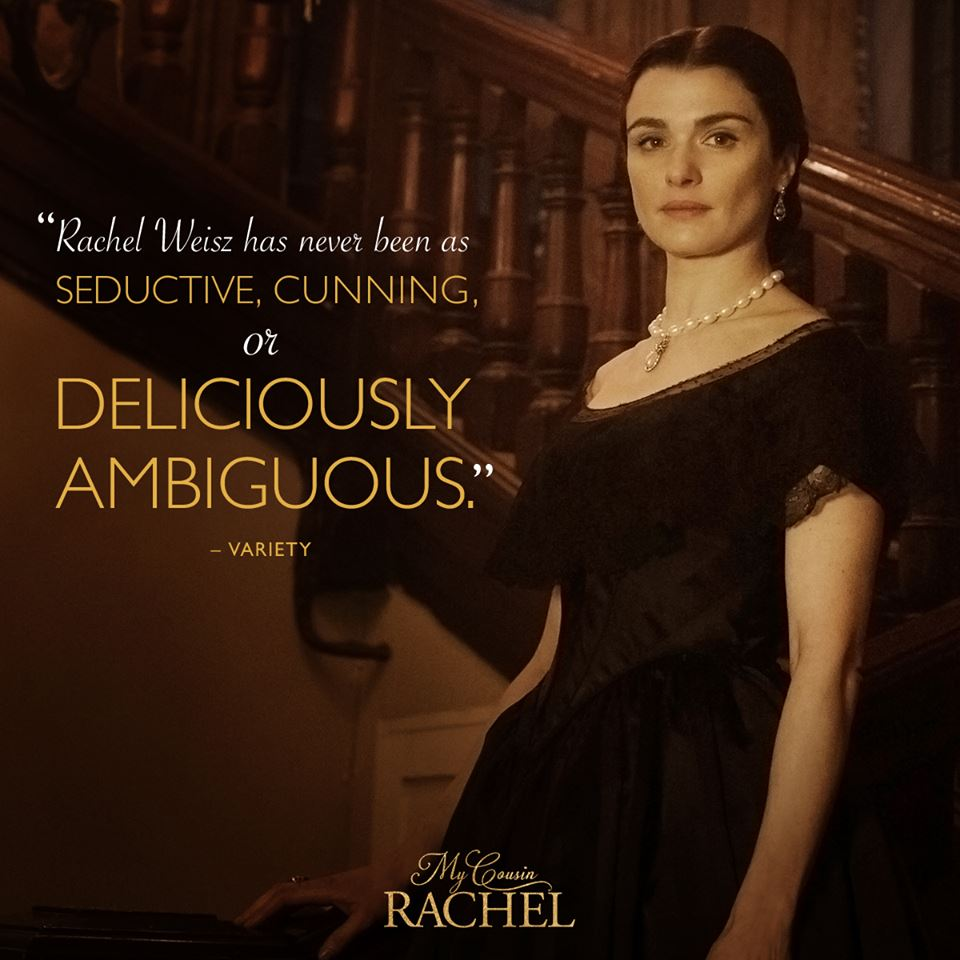 My Cousin Rachel in theaters June 9th