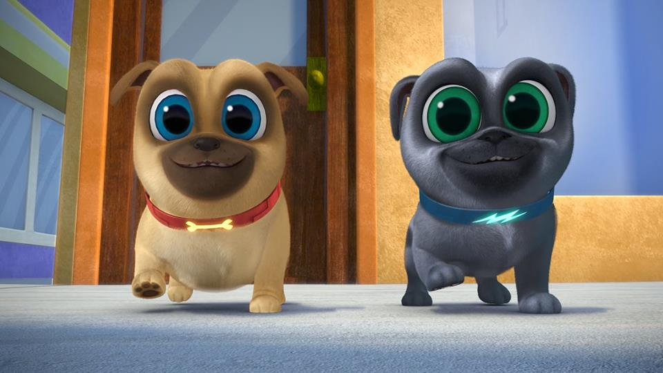 Puppy Dog Pals, Don't rain on my Pug Rade