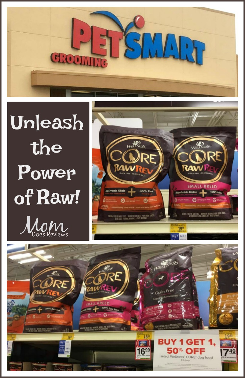 Unleash the Power of raw with Core Wellness Raw Rev at Petsmart