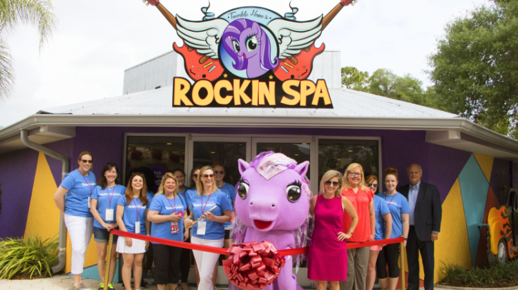 New Twinkle Hope's Rockin' Spa at Give Kids the World Village  #socialgood #GKTWVillage