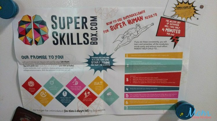 Super Skills Box Makes Building Vocabulary Skills Fun For Kids