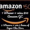 win $50 amazon gc and super fiber chia bars