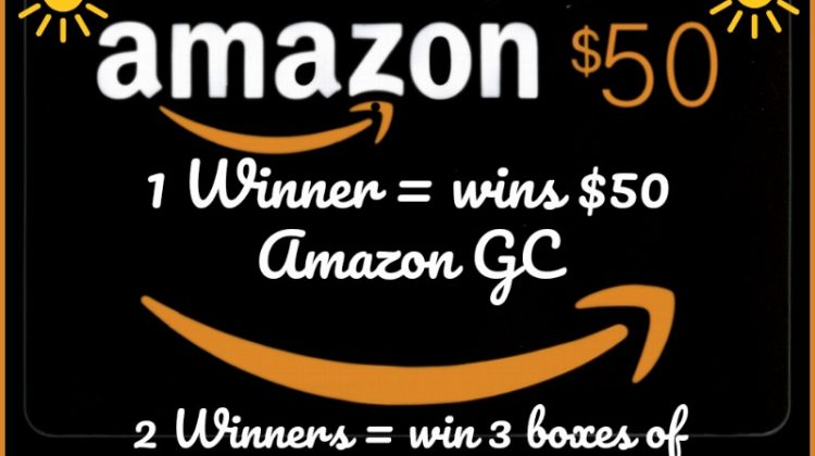 #Win $50 Amazon GC, 2 more winners get 3 boxes of #vivaNUTRITION bars! US 7/10