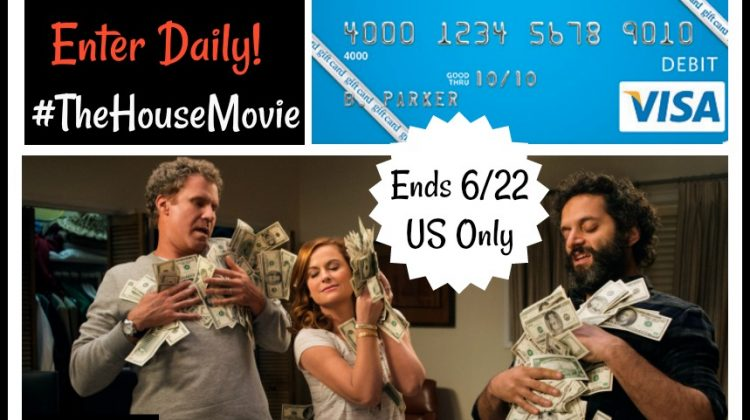 #Win $50 Visa GC to see #TheHouseMovie – Have a Wild Parent's Night Out! #ad