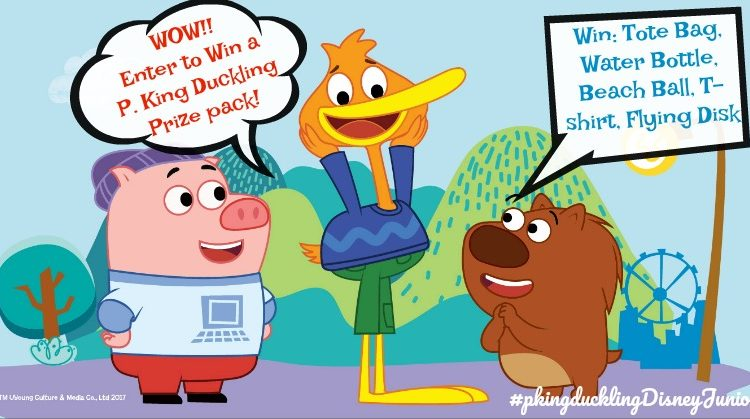 Disney Juniors P. King Duckling Encourages Creative Play #Ad #pkingducklingdisneyjunior