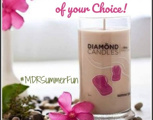 #Win a Diamond Candle of your Choice! US ends 7/9 #MDRSummerFun