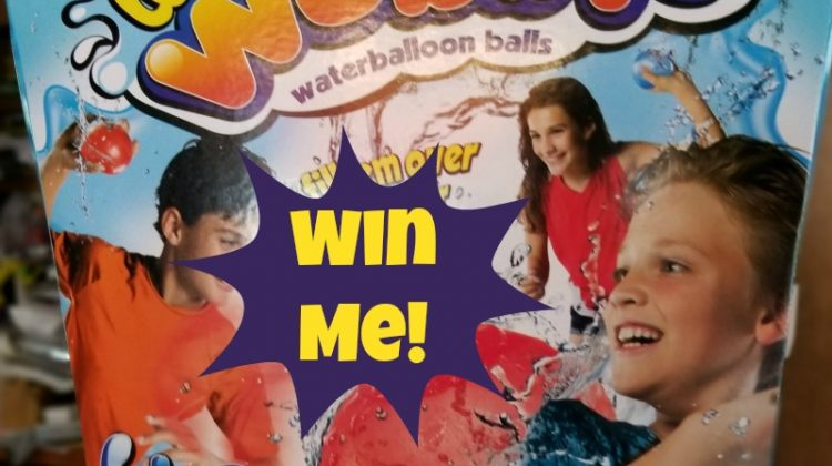 Fun with the Water Wubble Balls #MDRSummerFun and #Giveaway! #WaterWubble