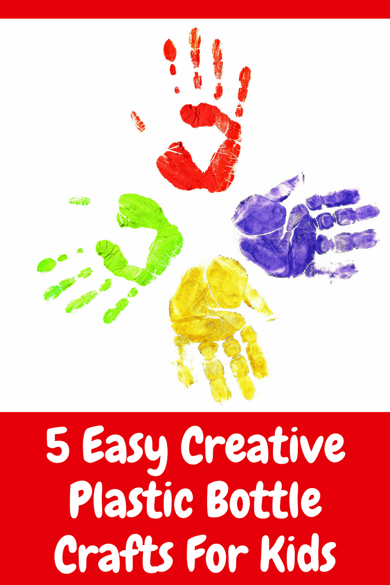 5 Easy Creative Plastic Bottle Crafts