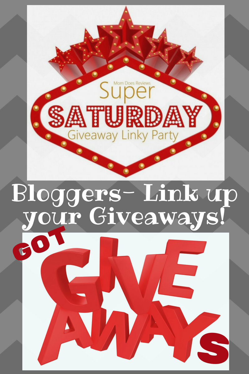 Super Saturday giveaway linky party!