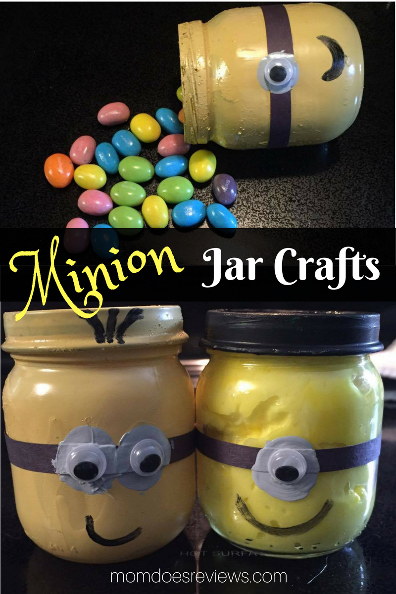 Minion jar Crafts